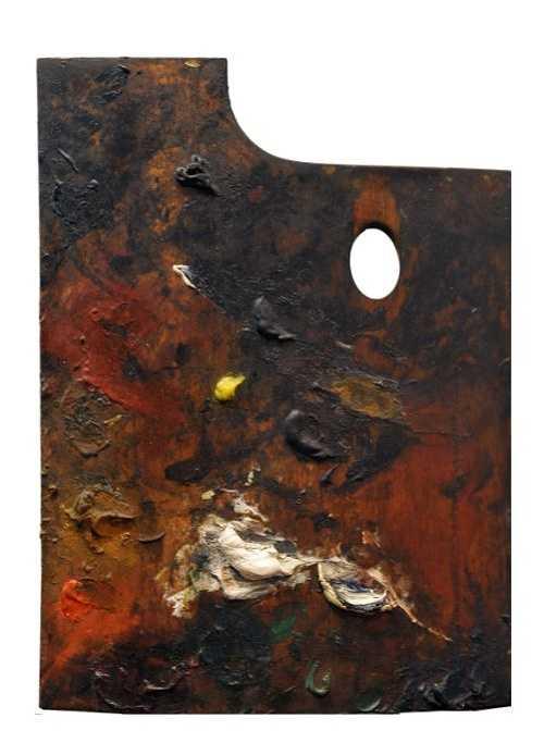 Sennelier and Paul Cézanne''s palette 860cezannepaletteverticale