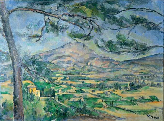 Sennelier and Paul Cézanne''s palette 0