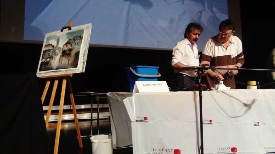 Sennelier, partner of the Léon International Watercolor Biennial demo-ak-768x432