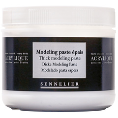 thick modeling paste