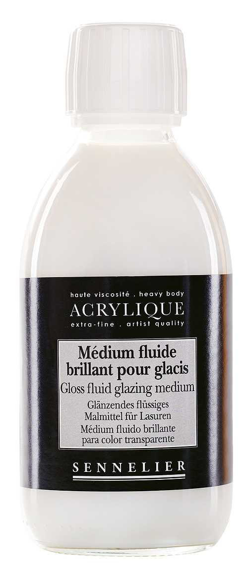 Gloss fluid glazing medium n125003-250mediumbrillantglacis