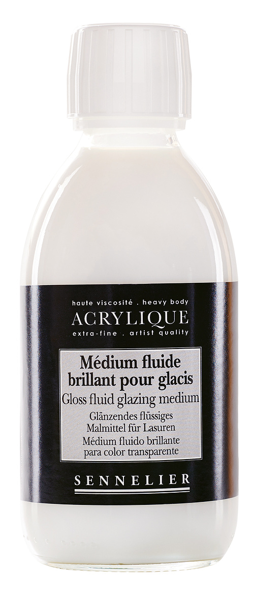 Gloss fluid glazing medium n125003-250mediumbrillantglacis