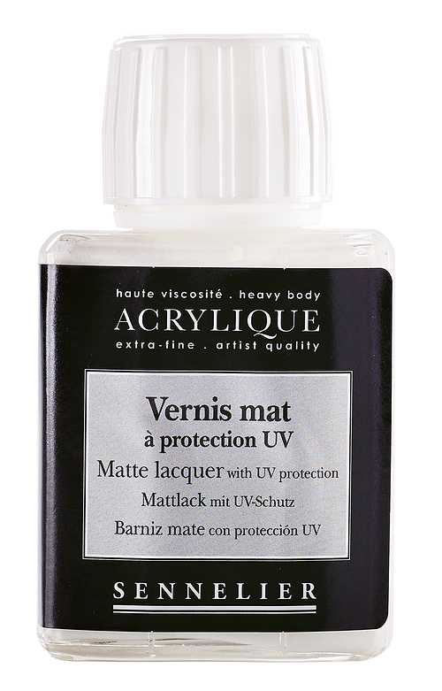 Matte lacquer with UV protection 0