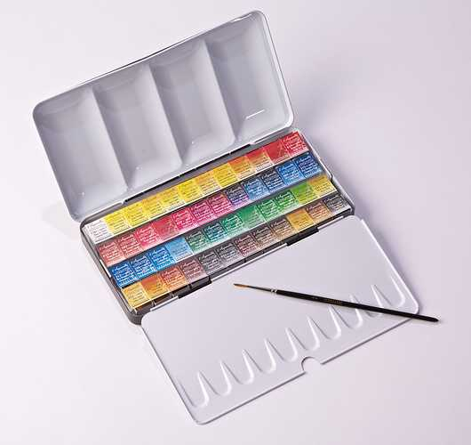 Classic watercolour boxes n131607-metal48dg