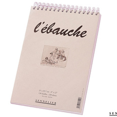 ebauche drawing pads