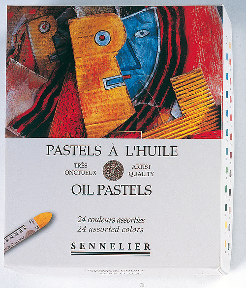 OIL PASTELS – CARD BOXES n132520-240carton24universels