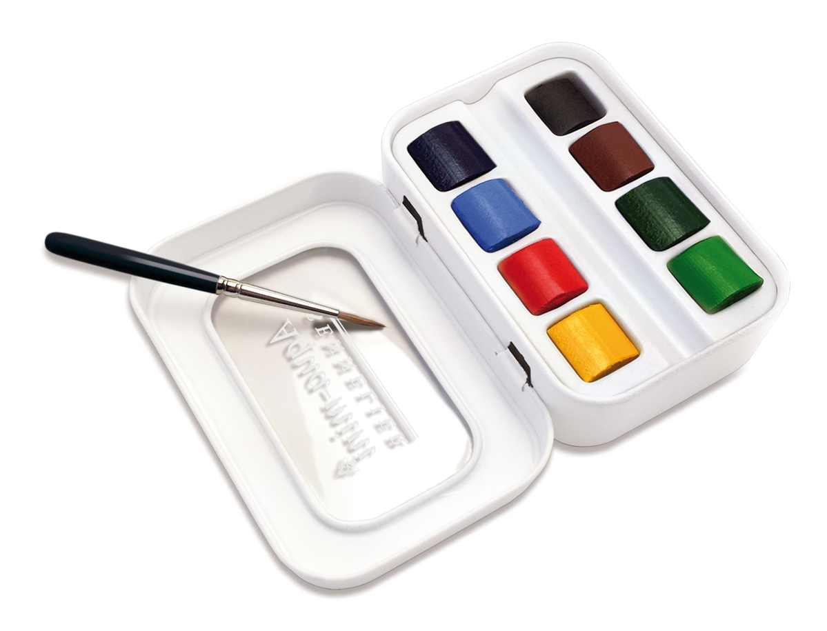 Aqua-Mini, the new pocket watercolor box
